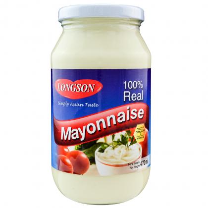 Longson Real Mayonnaise (470ml)